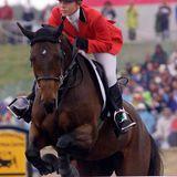 Prinzessin Haya  Die Tochter von König Hussein von Jordanien startet auf ihrem Pferd Lucilla bei den Sommerspielen in Sydney.