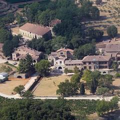 """Das """"Château Miraval"""" ist ein altes Weingut aus dem 17. Jahrhundert. Das Traumschloss des Hollywoodpaares liegt inmitten von Wei"""