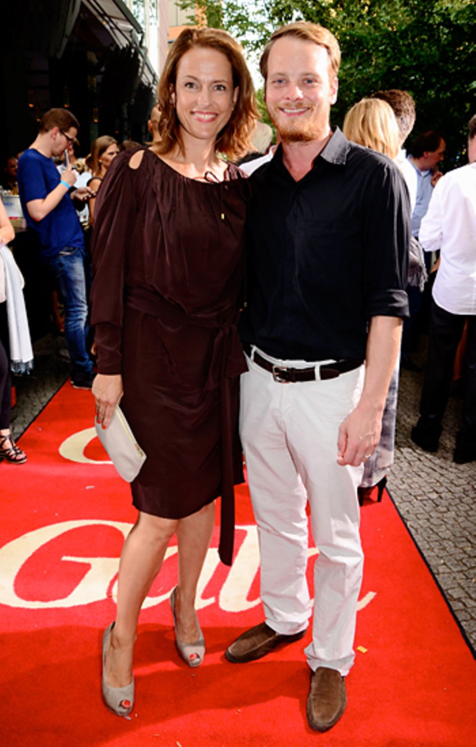 First Steps Awards: Claudia Michelsen und Stefan Konarkse