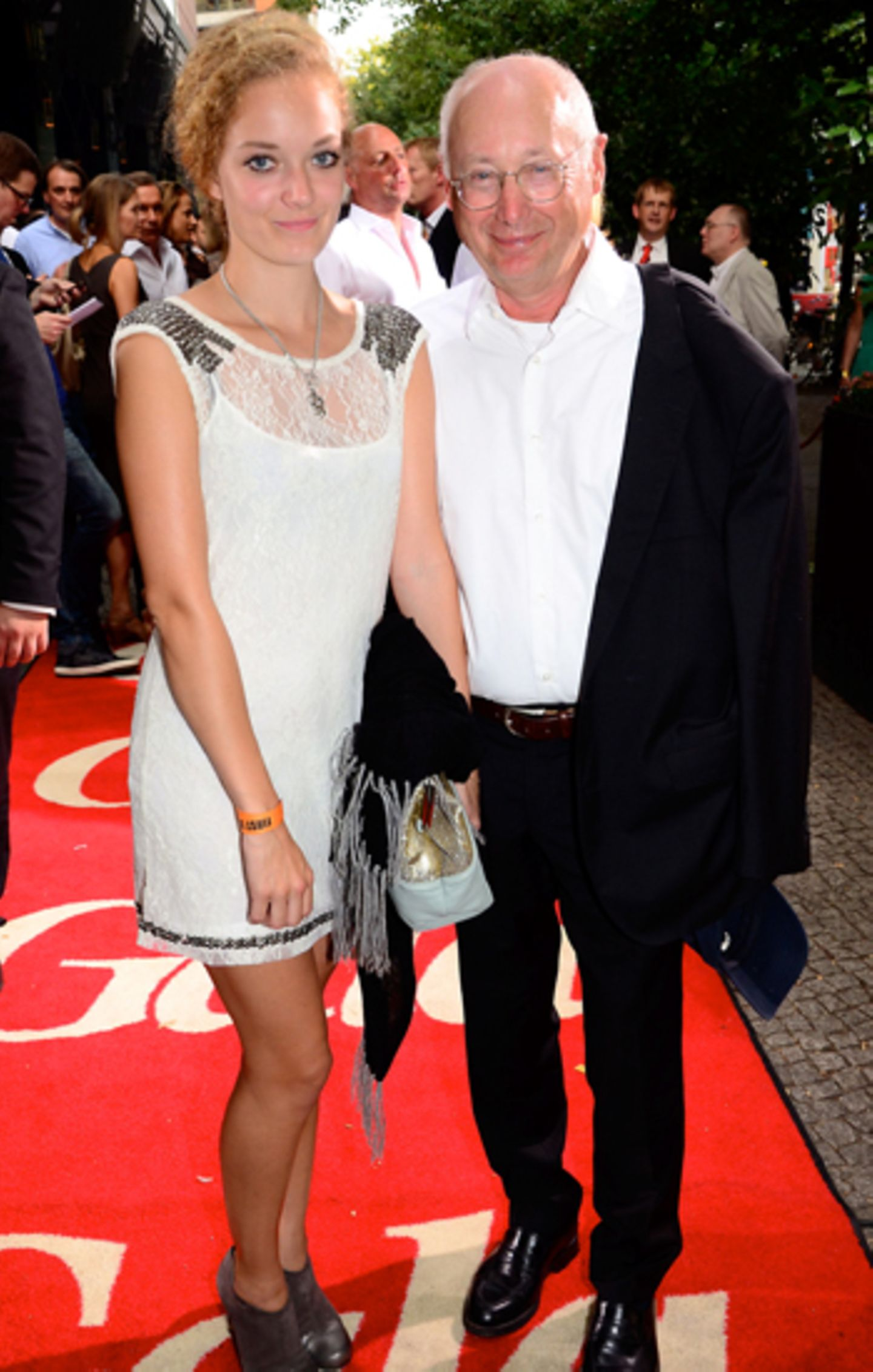 First Steps Awards: Stefan Aust und Tochter Antonia
