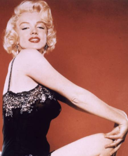 Oft kopiert: Marilyn Monroes Schmollpose