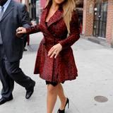 Auch Mariah Carey kommt am Animal-Print-Trend nicht vorbei.