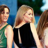 """Soraia Chaves, Victoria Guerra und Elsa Zylberstein gehen zur Premiere von """"""""Linhas de Wellington""""."""