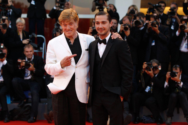 "Robert Redford führt Regie und Shia LaBeouf spielt in dem Film ""The Company You Keep""."