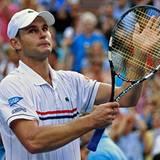 Sein letztes Match in Flushing Meadows: Mit Tränen in den Augen verabschiedet sich der geschlagene Andy Roddick von der Tennisbü