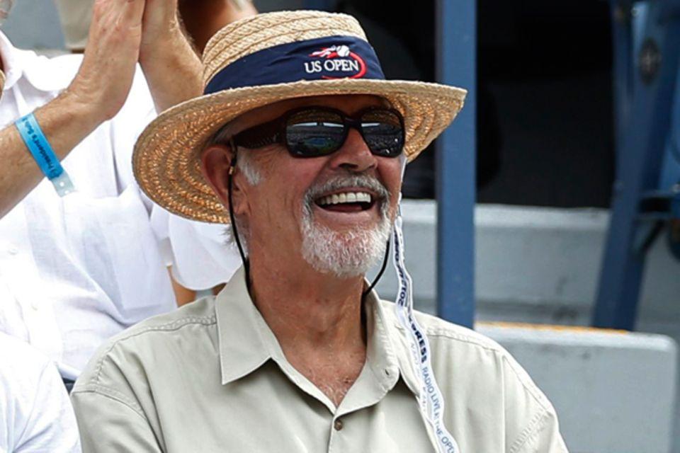 Sean Connery ist begeisterter Tennisgucker.