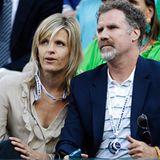 Auch Will Ferrell und Viveca Paulin sind Tennisfans.