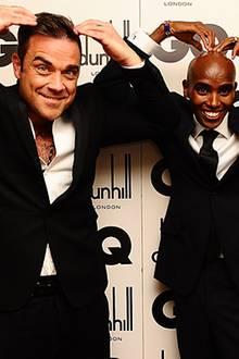 GQ Men of the Year Awards: Robbie Williams (Icon Award) und Olympia-Goldmedaillen-Gewinner Mo Farah