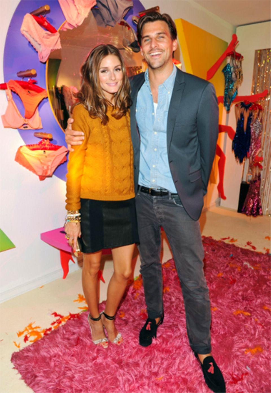 Das New Yorker It-Girl Olivia Palermo und ihr Verlobter, das deutsche Topmodel Johannes Hübl, haben viel Spaß in Rio.
