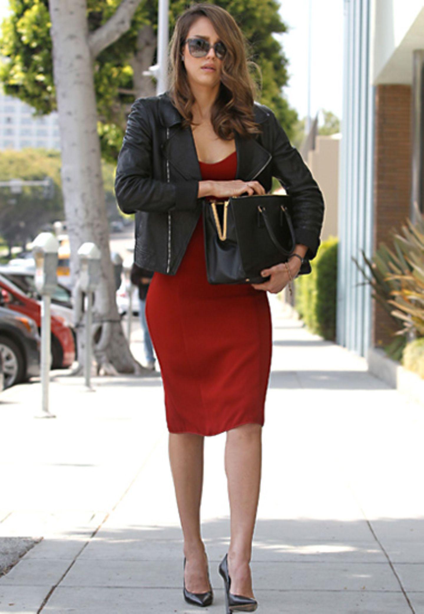 fashion-looks, fashion looks, modestil, stil, mode, style, Fashion-Looks Jessica Alba, April 2012