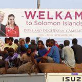 Die Bewohner der Salomon-Inseln freut sich bereits auf den royalen Besuch.