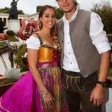 Daniel van Buyten und seine Frau Celine