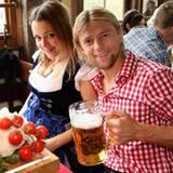 Anatoliy Tymoshchuk und seine Partnerin Nadiya
