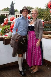 Phillipp Lahm und seine Frau Claudia