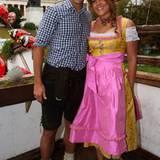 Claudio Pizarro und seine Partnerin Karla Salcedo