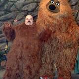 """Er machte auch Kinder froh: Von 2000 bis 2007 war Dirk Bach in der deutschen Version der """"Sesamstraße"""" als Zauberer """"Pepe"""" zu se"""