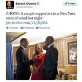 Beyoncé und Jay-Z statteten dem Präsidenten einen Besuch im Weißen Haus ab. Über seinen Kampagnen-Account bei Twitter wurde dann