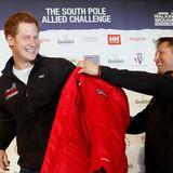 """Ab ins Eis: gemeinsam mit verwundeten Soldaten will Prinz Harry Ende 2013 für die Charity-Organisation """"Walking with the Wounded"""" zum Südpol wandern."""