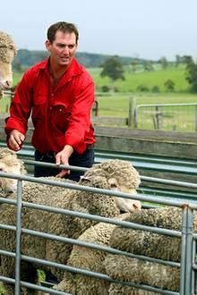 Während Camilla Tee trinkt, verbringt Charles die Zeit lieber auf der Koppel der Schafsfarm in Richmond un zeigt sich dabei sehr
