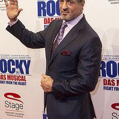 Sylvester Stallone kam für die Premiere von Rocky extra nach Deutschland.