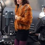"In High Heels, Minirock und Pelzmantel verkörpert Jared Leto einen Transvestiten in dem Film ""The Dallas Buyer's Club""."