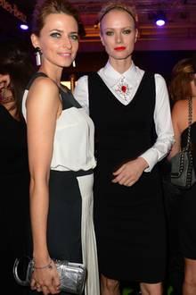Eva Padberg und Franziska Knuppe