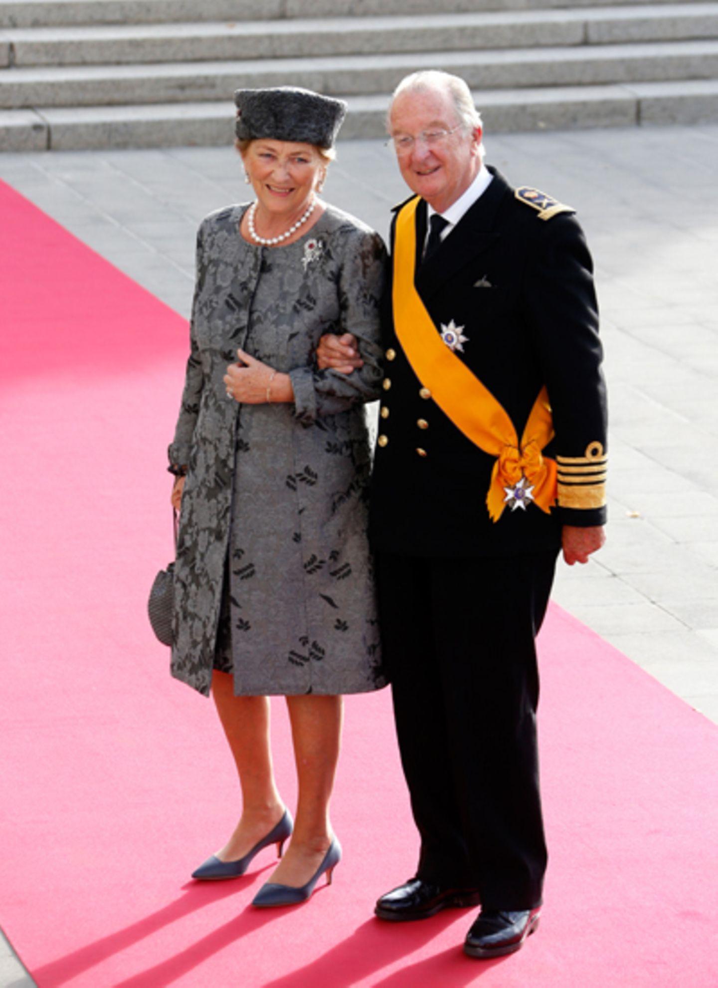 König Albert II und Königin Paola von Belgien