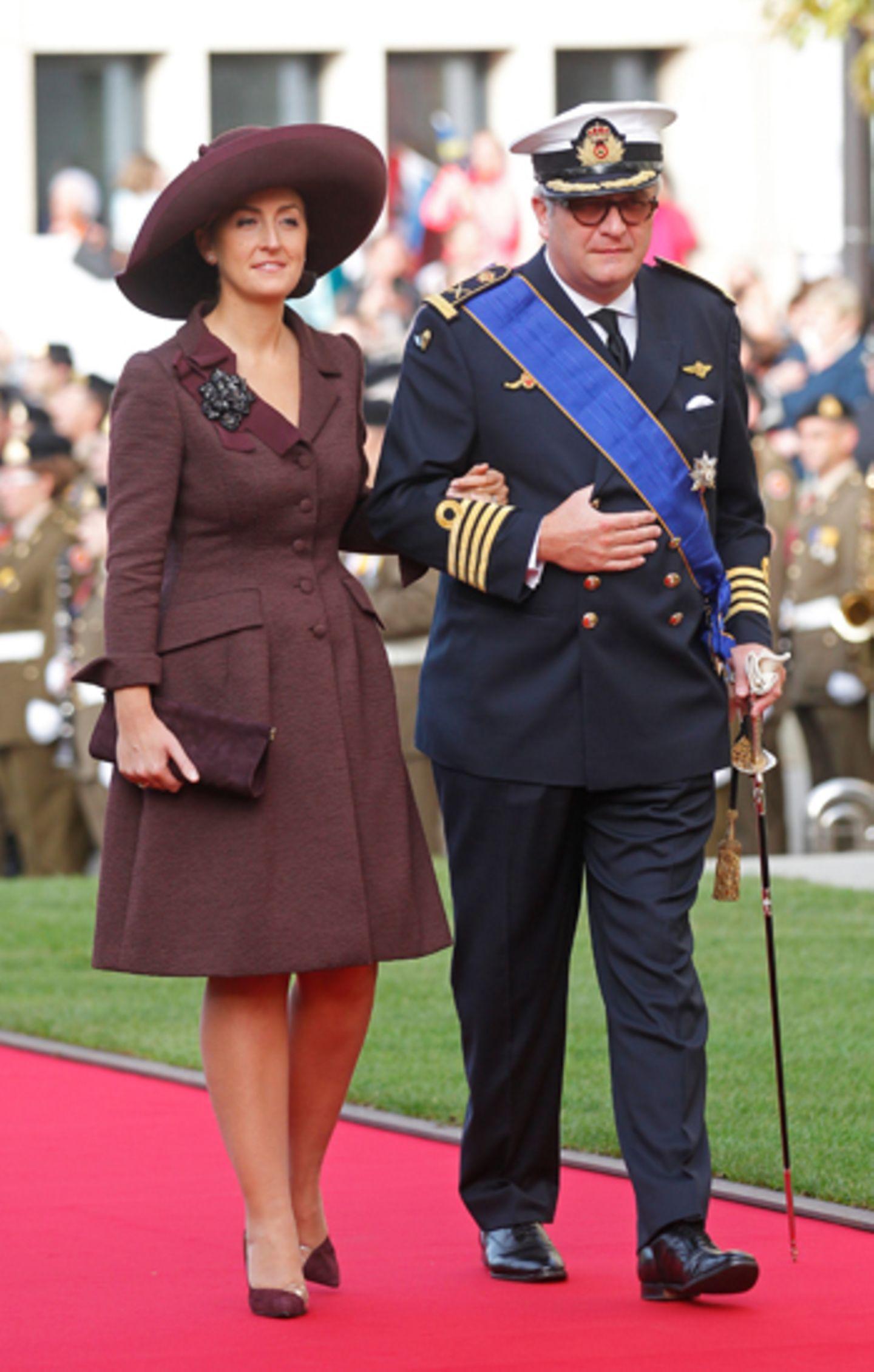 Prinzessin Claire und Prinz Laurent von Belgien