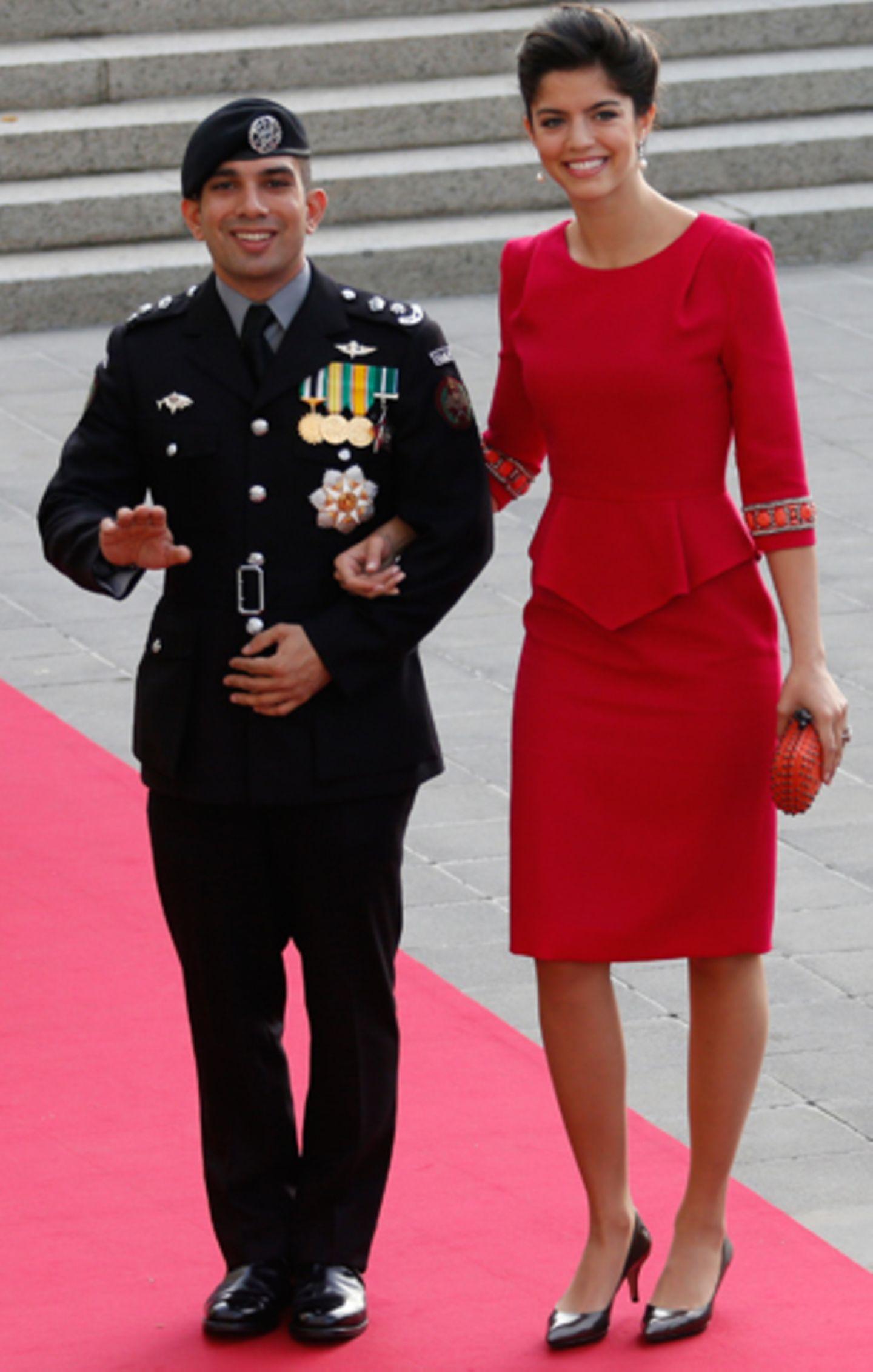 Prinz Rashid bin El Hassan und Prinzessin Zeina von Jordanien