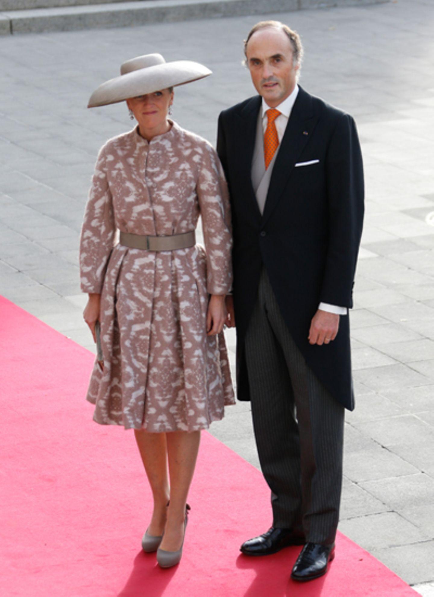 Prinzessin Astrid und Prinz Lorenz von Belgien