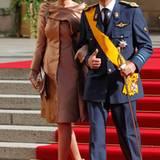 Prinzessin Mathilde und Prinz Philipp von Belgien
