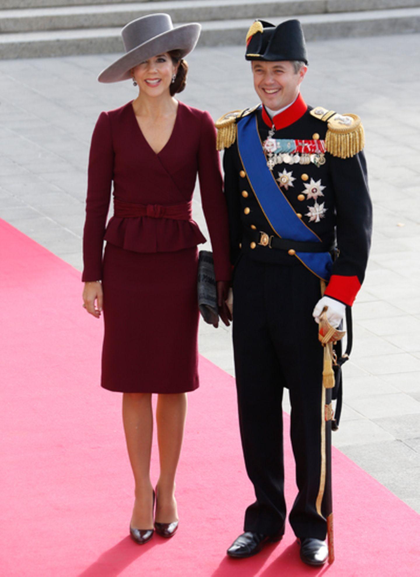 Prinzessin Mary und Prinz Frederik von Dänemark