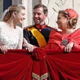 Die Großherzogin Maria Teresa von Luxemburg ist stolz auf ihren Sohn und ihre Schwiegertochter.