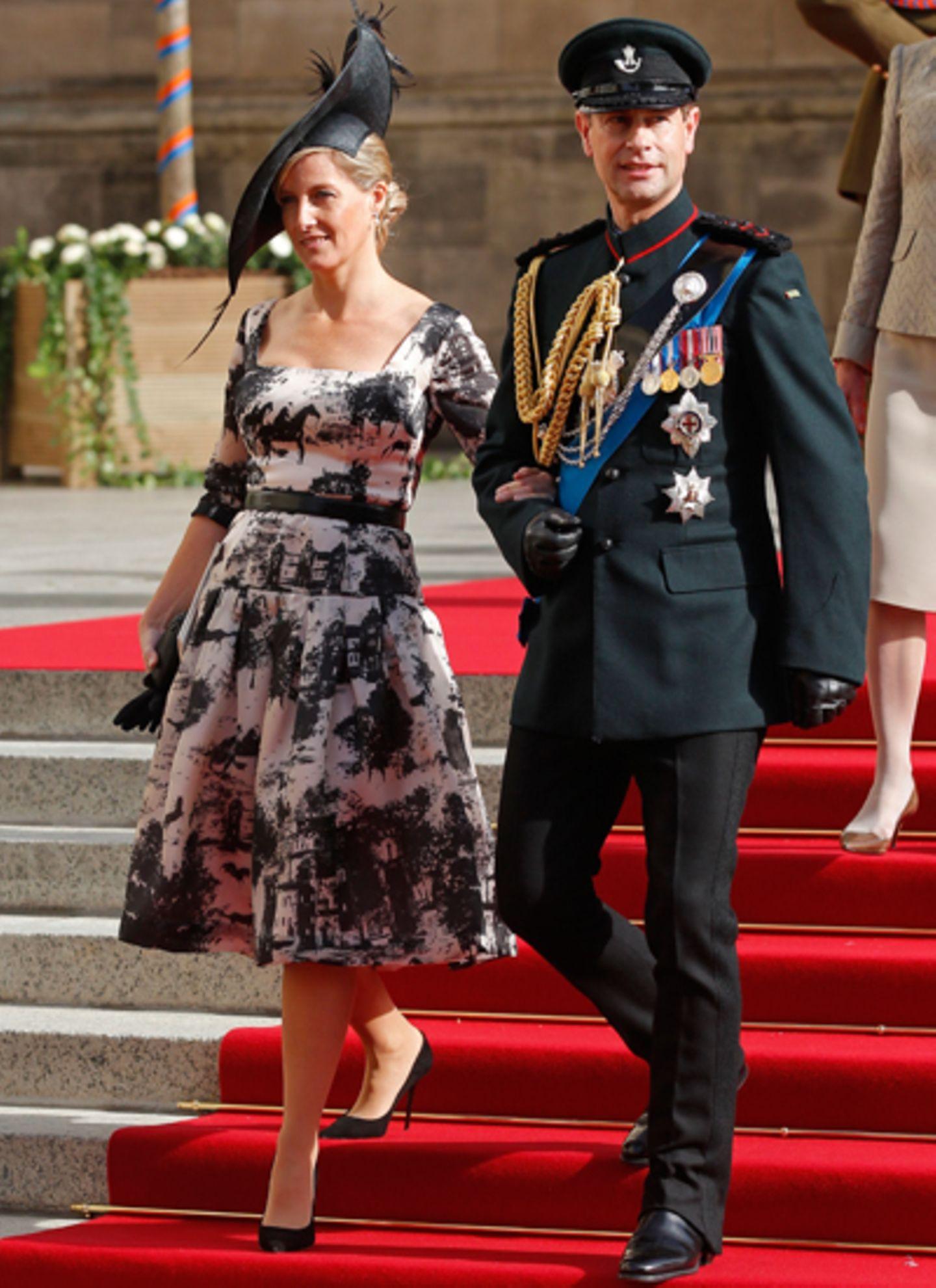 Gräfin Sophie und Prinz Edward