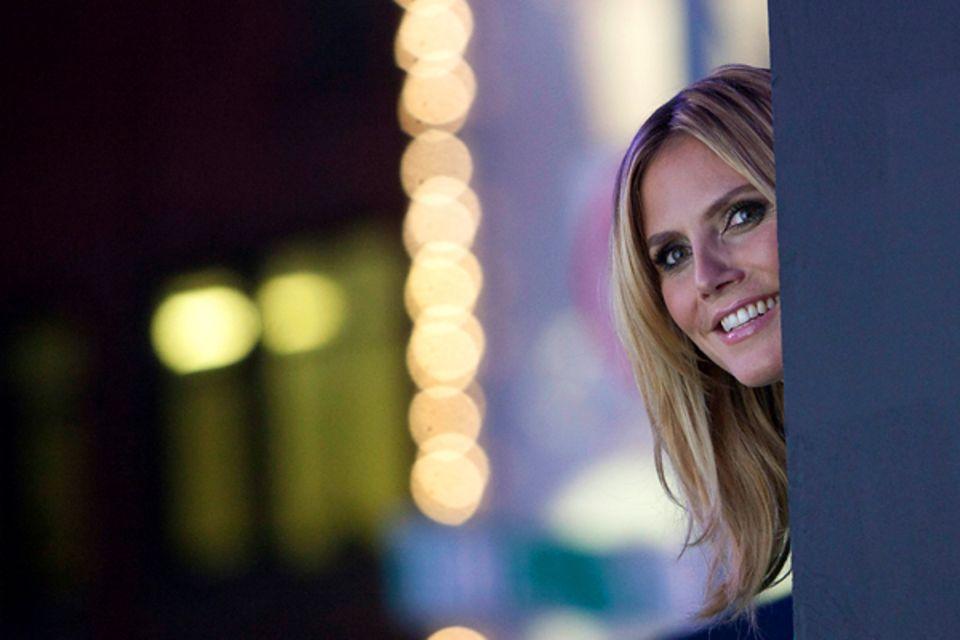 Ausblick 2013: Nutzt Heidi Klum, nachdem sich die Scheidungsaufregung gelegt hat, ihr Privatleben doch wieder wie gewohnt als Ve