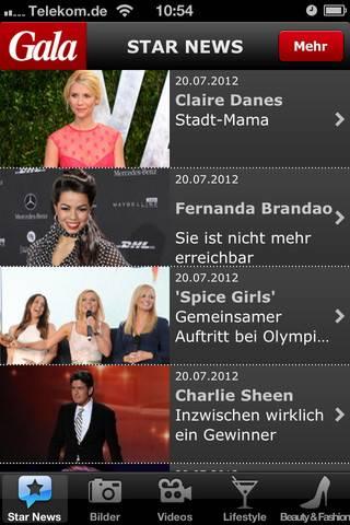 iPhone App: Star News