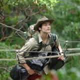 Patrick Nuo hat seine Sachen gepackt und muss das Camp verlassen.