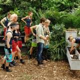 """Zum ersten Mal durften die VIP-Camper entscheiden, wer zur Dschungelprüfung antreten soll. Es ist Claudelle Deckert, die die Prüfung im Beisein der anderen Camper bestens meistert.   Alle Infos zu """"Ich bin ein Star - Holt mich hier raus!"""" im Special bei RTL.de: http://www.rtl.de/cms/sendungen/ich-bin-ein-star.html"""
