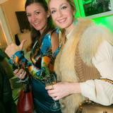 GALA-Event: Moderatorin Sandra Thier und Prinzessin Elna-Margret zu Bentheim