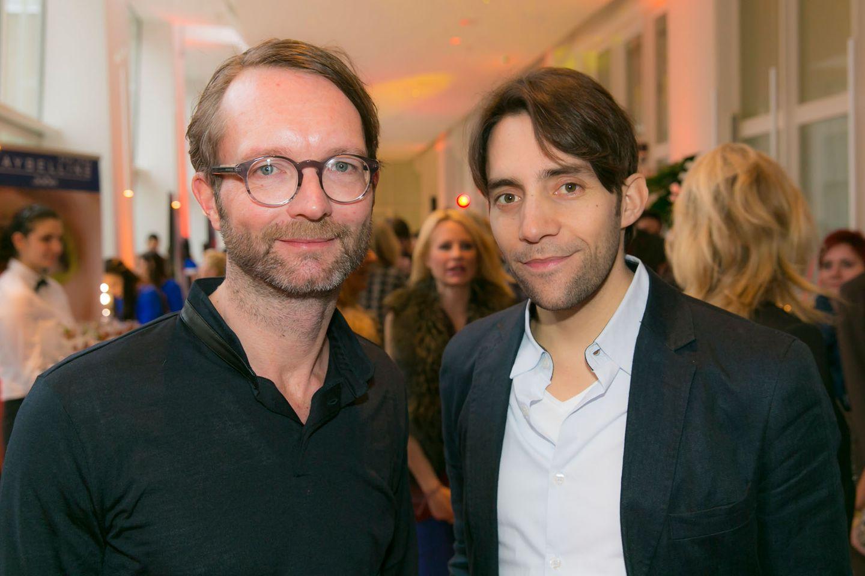 GALA-Event: GALA-Modechef Marcus Luft und Martin Woessner (WHITE Communications)