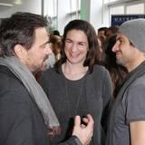 GALA-Event: Jan Sosniok , Nadine Moellers und Tom Beck amüsieren sich prächtig.