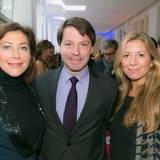 GALA-Event: PR-Frau Alexandra von Rehlingen, Thomas Staedtner und Janka Broeckner (Montblanc)