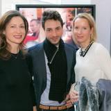 GALA-Event: Dominic Hofer und Justine Gaetcke (r.) (Dr. Babor)