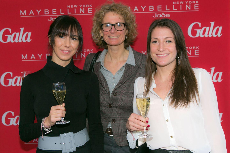 GALA-Event: Prost! Tina Scheibe, Kathrin Wirz und Juliane Dobischok von Pommery