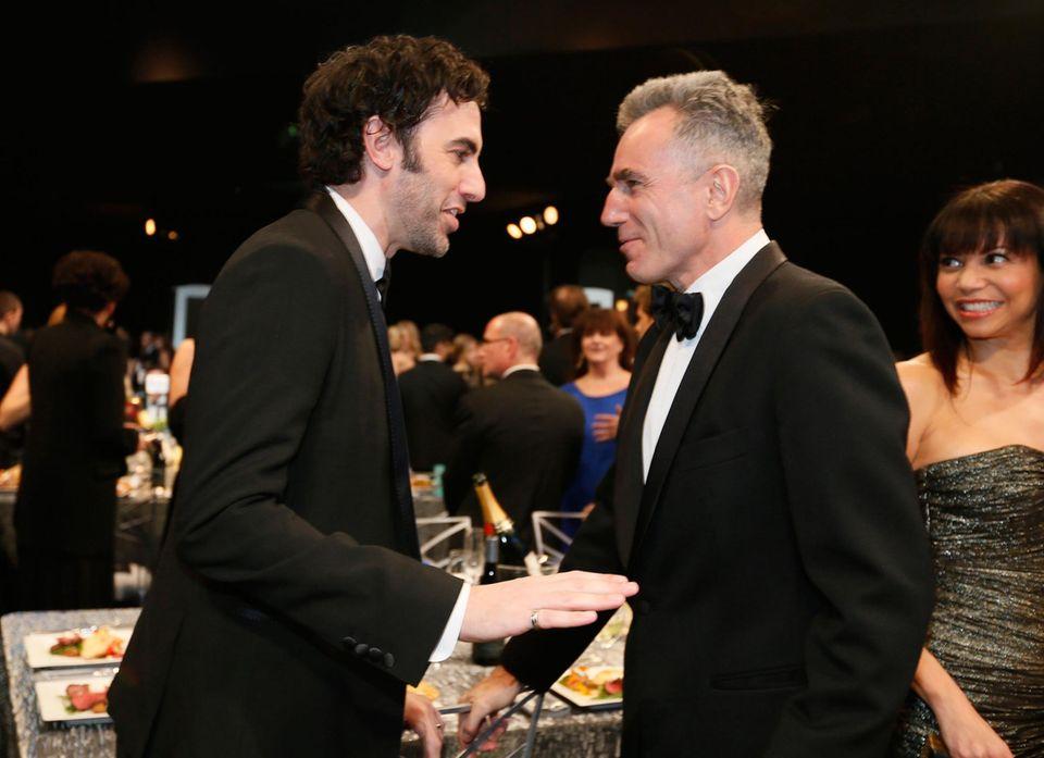Sacha Baron Cohen und Daniel Day-Lewis