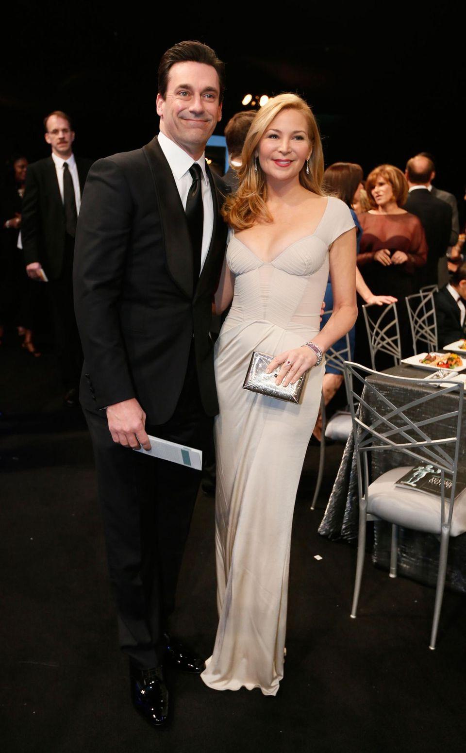 Jon Hamm und seine Partnerin Jennifer Westfeldt