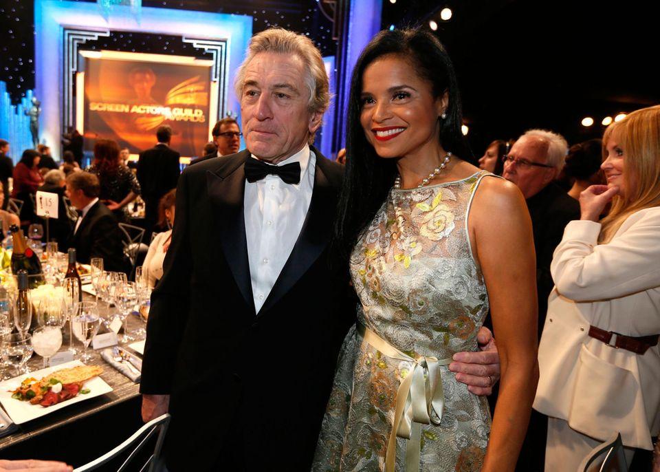 Robert De Niro und Victoria Rowell