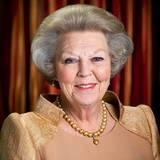 Zum 75. Geburtstag veröffentlicht der niederländische Hof dieses Porträt von Königin Beatrix.