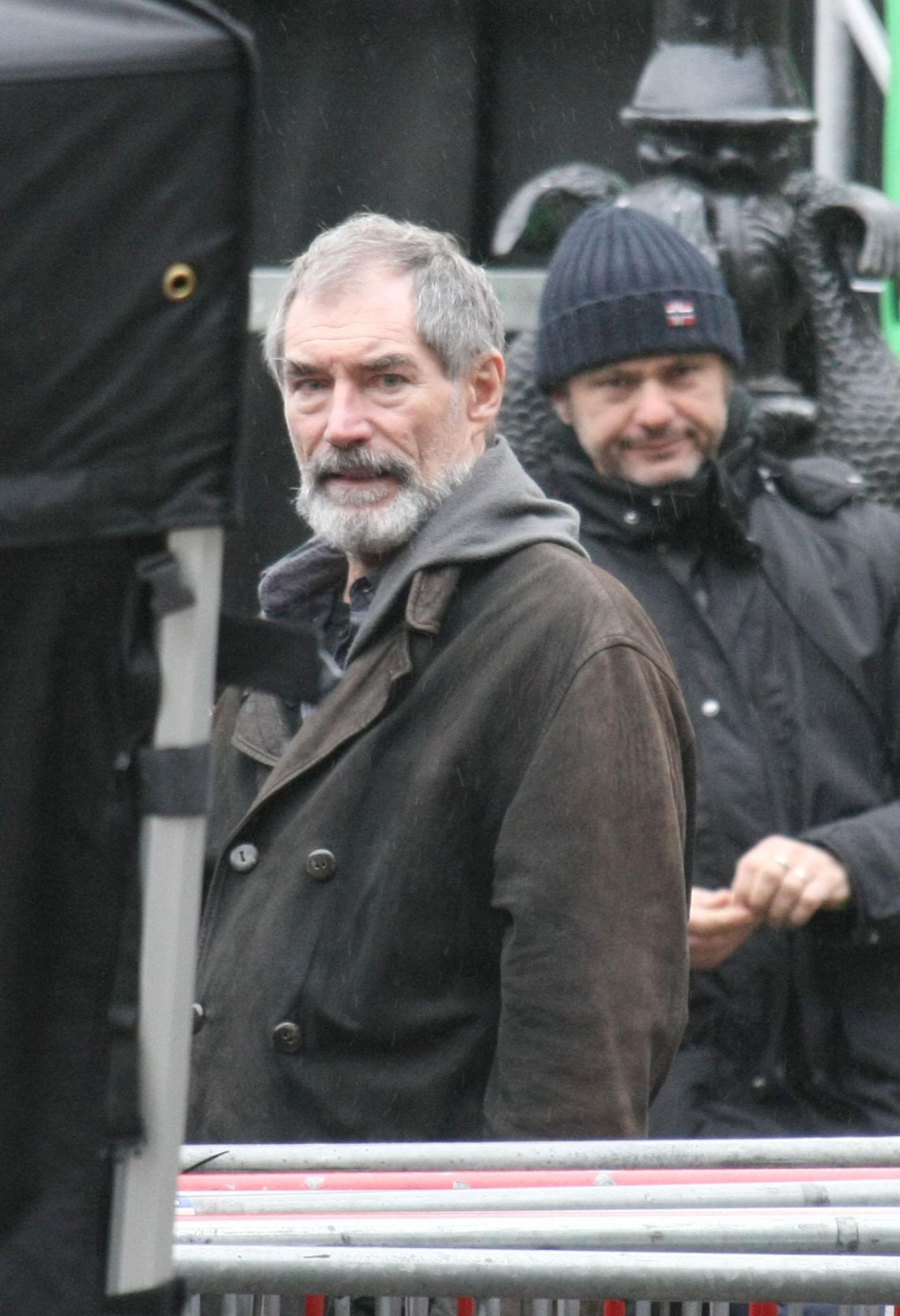 30. Oktober 2013: Auch Timonthy Dalton steht in Dublin vor der Kamera.