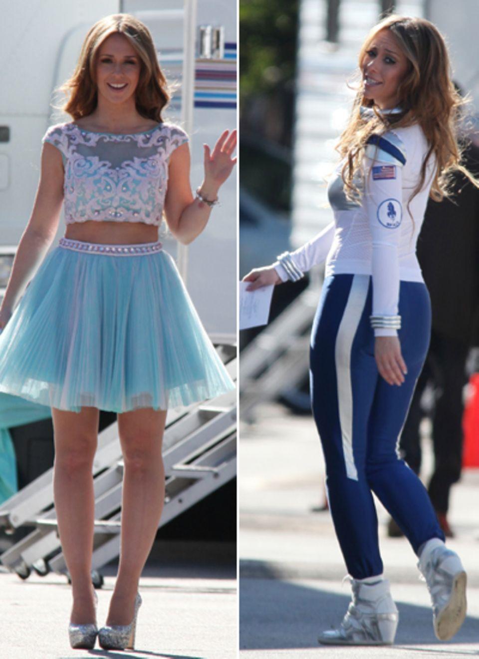 """4. Januar 2013: Für die Dreharbeiten von """"The Client List"""" darf Jennifer Love Hewitt in sehr unterschiedliche Kostüme schlüpfen."""